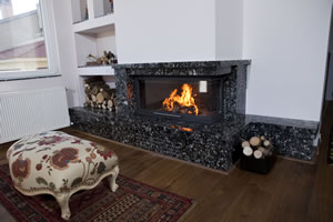 L-Type Fireplace Surrounds - L 128 B