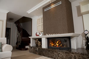 L-Type Fireplace Surrounds - L 131 B