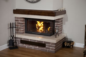 L-Type Fireplace Surrounds - L 132 B