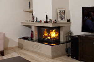 L-Type Fireplace Surrounds - L 135 B