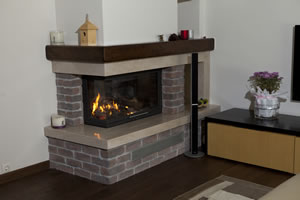 L-Type Fireplace Surrounds - L 140 A