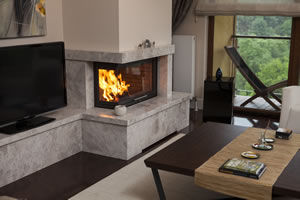 L-Type Fireplace Surrounds - L 144 B