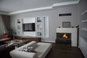 L-Type Fireplace Surrounds - L 162 A