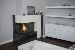 L-Type Fireplace Surrounds - L 162 B