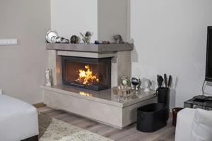 L-Type Fireplace Surrounds - L 165 A