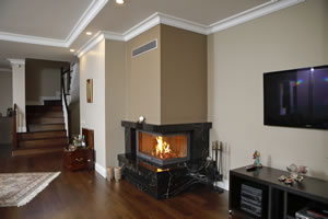 L-Type Fireplace Surrounds - L 166 A