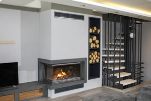 L-Type Fireplace Surrounds - L 173 B
