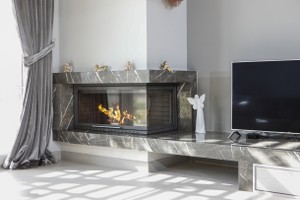 L-Type Fireplace Surrounds - L 176 A