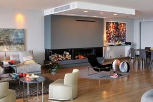 Modern Fireplace Surrounds - M 100
