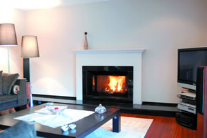 Modern Fireplace Surrounds - M 108