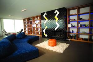 Modern Fireplace Surrounds - M 109