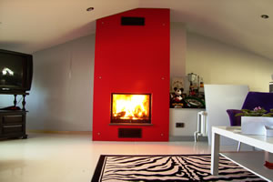 Modern Fireplace Surrounds - M 114