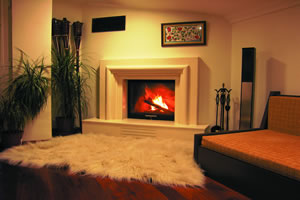 Modern Fireplace Surrounds - M 117