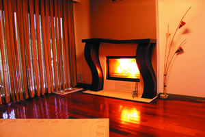 Modern Fireplace Surrounds - M 127