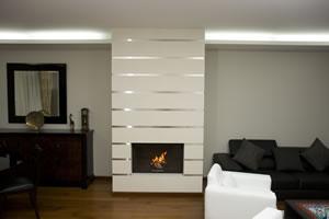 Modern Fireplace Surrounds - M 128 A