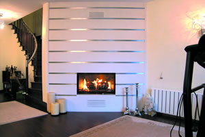 Modern Fireplace Surrounds - M 128