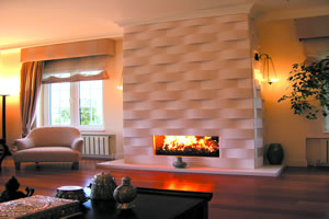 Modern Fireplace Surrounds - M 129