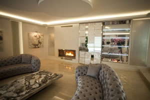 Modern Fireplace Surrounds - M 147 A