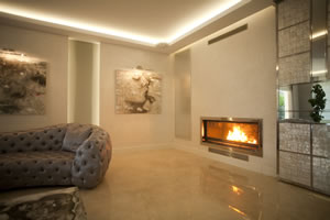 Modern Fireplace Surrounds - M 147 B