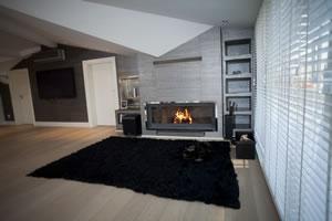 Modern Fireplace Surrounds - M 148 A