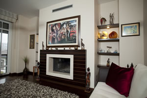 Modern Fireplace Surrounds - M 151 A
