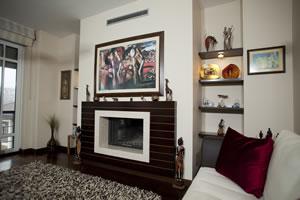 Modern Fireplace Surrounds - M 151 A