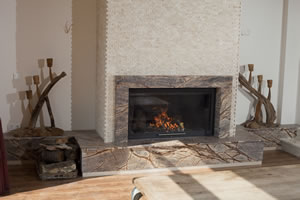 Modern Fireplace Surrounds - M 154 A