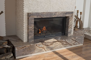 Modern Fireplace Surrounds - M 154
