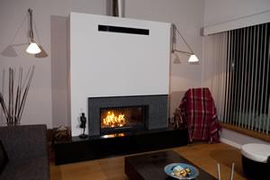 Modern Fireplace Surrounds - M 157 B