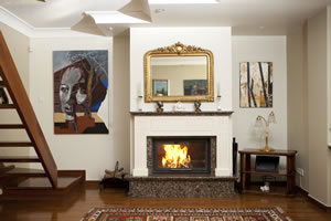 Modern Fireplace Surrounds - M 158 B