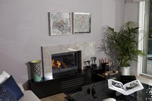 Modern Fireplace Surrounds - M 159 B