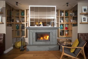 Modern Fireplace Surrounds - M 162 B