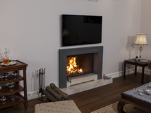 Modern Fireplace Surrounds - M 163 B