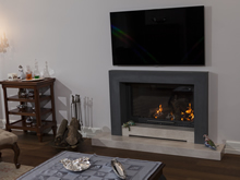 Modern Fireplace Surrounds - M 163