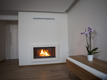 Modern Fireplace Surrounds - M 164 B
