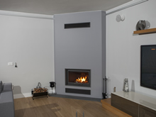 Modern Fireplace Surrounds - M 165 A