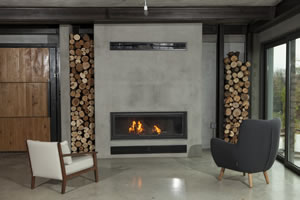 Modern Fireplace Surrounds - M 166 A