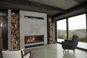 Modern Fireplace Surrounds - M 166 B