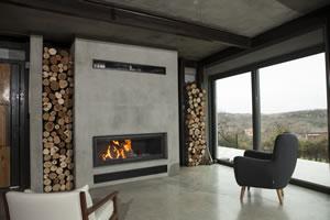 Modern Fireplace Surrounds - M 166 B