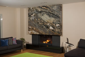 Modern Fireplace Surrounds - M 167 B