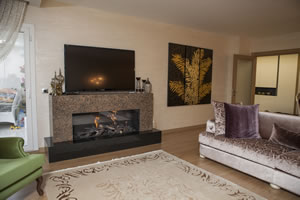 Modern Fireplace Surrounds - M 171 B