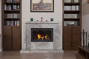 Modern Fireplace Surrounds - M 173 A