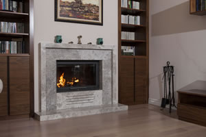 Modern Fireplace Surrounds - M 173 B
