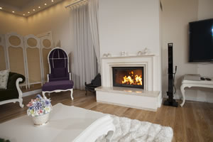 Modern Fireplace Surrounds - M 174 B