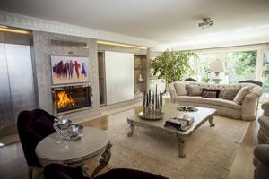 Modern Fireplace Surrounds - M 176 A