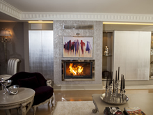Modern Fireplace Surrounds - M 176 C