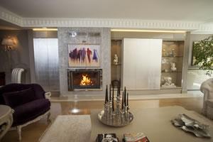 Modern Fireplace Surrounds - M 176