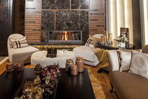 Modern Fireplace Surrounds - M 178 C