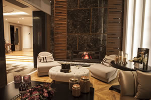 Modern Fireplace Surrounds - M 178 D