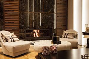 Modern Fireplace Surrounds - M 178 E